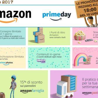 Amazon Prime Day 2017: offerte in tempo reale