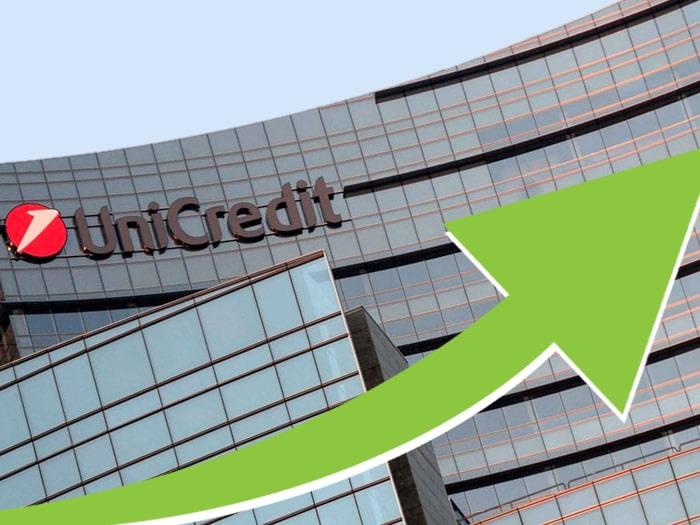 Azioni Unicredit, prezzi in rialzo grazie alla trimestrale positiva