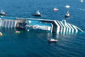 Costa Concordia: Ancora sui fondali…