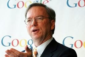 """Eric Schmidt: """"Google punta i paesi in via di sviluppo"""""""