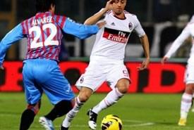 Il Milan passa a Catania, siciliani furiosi con l'arbitro