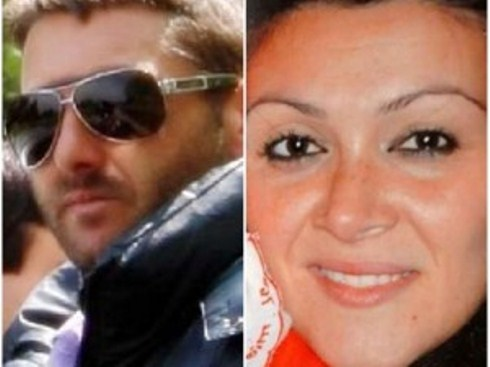 Melania Rea e Salvatore Parolisi. Il marito è l'unico indagato per la morte della moglie
