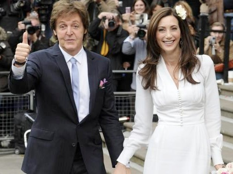 Paul Mc Cartney e consorte, Nancy Shevell si sono sposati il 9 ottobre a Londra