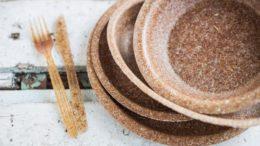 Piatti biodegradabili