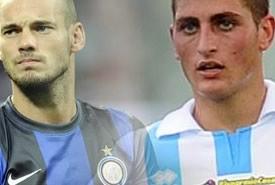 Calciomercato Inter: clamoroso scambio Sneijder-Verratti?