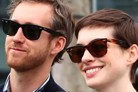 Anne Hathaway sposa Adam Shulman al tramonto in California