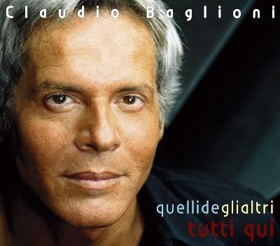 Claudio Baglioni famoso cantante romano ideatore di 'O Scia a Lampedusa