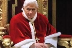 Papa Benedetto XVI lascerà il Pontificato