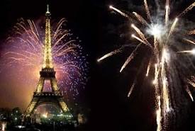 Romantico Capodanno a Parigi