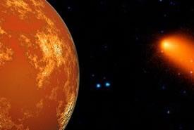 Cometa a rischio impatto con Marte