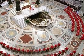 Conclave: i Cardinali in Cappella Sistina