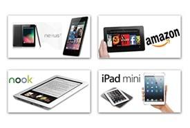 iPad Mini, confronto con Nexus 7, Kindle Fire e Nook