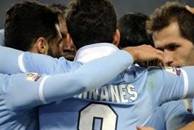 Coppa Italia: la Lazio batte il Catania 3-0 e va in semifinale