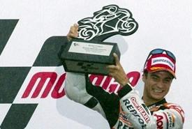 MotoGP: Dani Pedrosa vince sotto la pioggia della Malesia