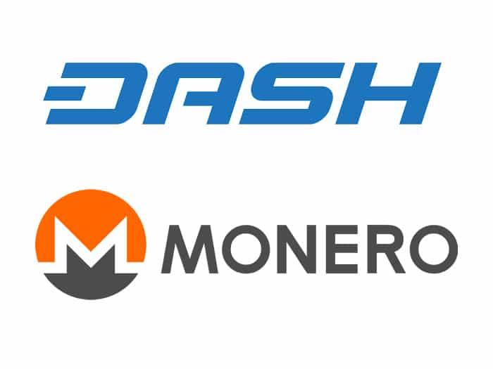 Prezzo Dash e Monero: Quotazione ai massimi storici