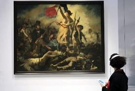 Il dipinto di Delacroix è salvo