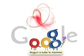 Festa della Mamma, ecco il Doodle di Google