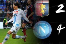 Genoa – Napoli 2 – 4, la SINTESI