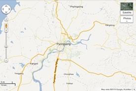 Mappe della Corea del Nord: Google le pubblica sul suo Maps