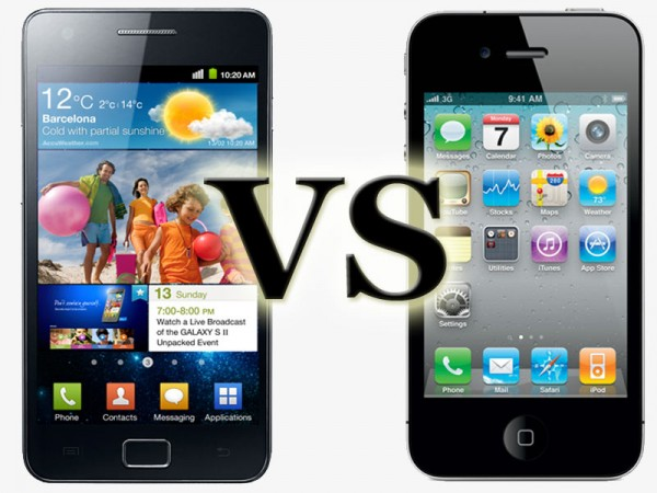 Galaxy S2 vs iPhone 4s: Samsung a quota 30 milioni