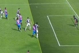 Juventus vince a Catania in un mare di polemiche