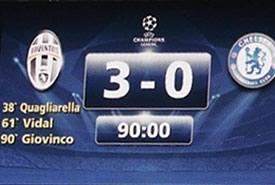 Juve, 3-0 al Chelsea! Ottavi ad un passo