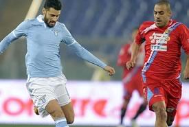 Coppa Italia: la Lazio piega il Catania 3-0 e vola in semifinale