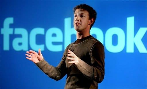 l'inventore di Facebook noto social network con più di 800 milioni di utenti