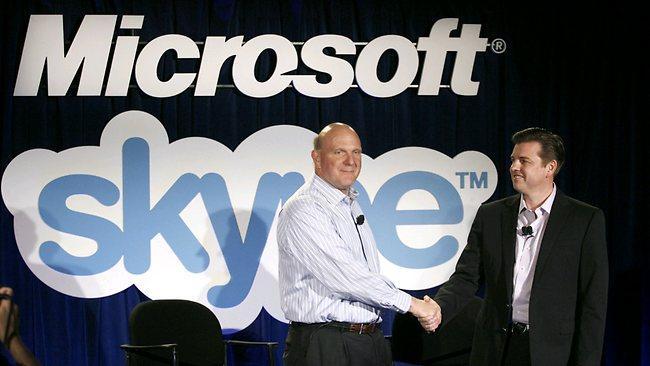 via libera dall'UE riguardo l'accordo microsoft skype