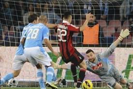 Napoli Milan, pareggio e occasione sprecata