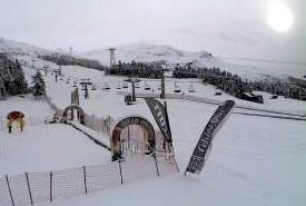 Neve su Alpi ed Appennino
