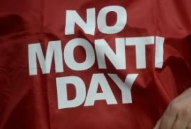"""No Monti Day"", Roma Invasa"