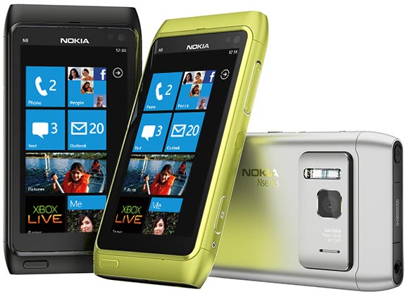 Nokia 800: primo smartphone con Windows Phone OS