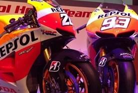 Nuove Moto Repsol Honda MotoGP