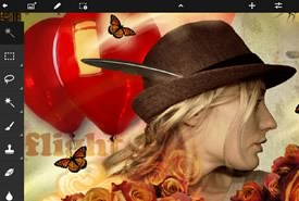 Photoshop Touch, l'app per smartphone Android