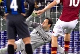 Roma-Inter 1-1: a segno Totti, su rigore, e Palacio