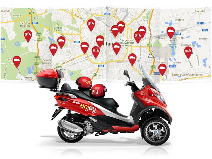 Scooter sharing a Milano: come funziona e come risparmiare