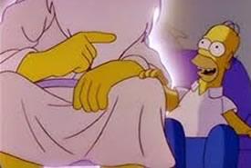 La fortunata serie dei Simpson accusata di blasfemia