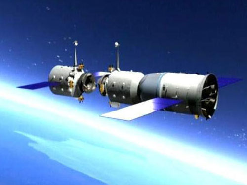 La Cina lancia in orbita la sua stazione spaziale Tiangong-1
