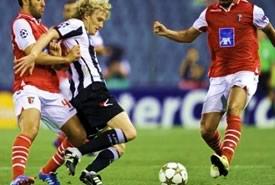 Udinese – Braga, i bianconeri fuori dalla Champions League