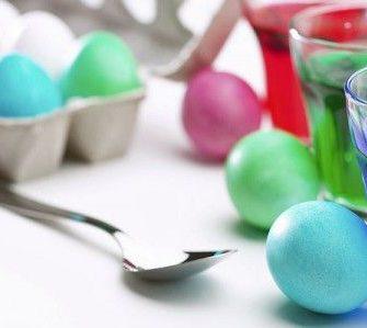 uova colorate per pasqua 2012